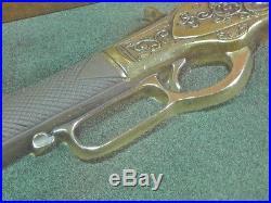 Vintage US Winchester Carbine 1866 Huge Decorative Wall Plaque Art Decor