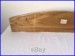 Vintage Wall Plaque Langelier Hand Crafted Designs Wood Apples Pie Nuts