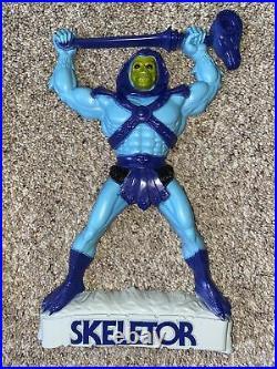 Vtg Set MOTU 3-D Wall Decoration He-Man Orko & Skeletor Plaque Rare Mattel 1984