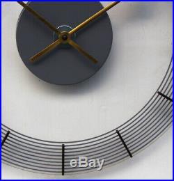 WEST GERMAN1970s Midcentury Vintage Retro Industrial Factory Office Wall Clock