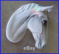 Wall Plaque HORSE HEAD p635 Vintage Japan