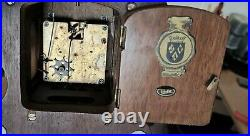 Warmink Zaanse Wall Clock 2 x Brass Weights On Pulleys 1 Day With Bell Strike