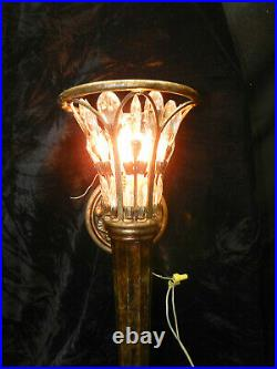 Winter Palace Antiqued by Fine Art Lamps- Silver 25 Inch Wall Sconce